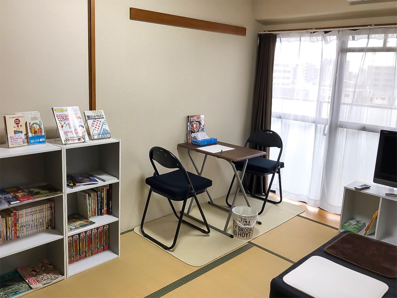 北大阪セラピーラボの待合室です。他のクライエント様とお顔を合わせることもございません。